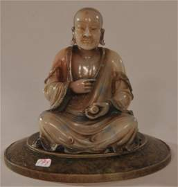 Soapstone carving. China. 20th century. Stone of a