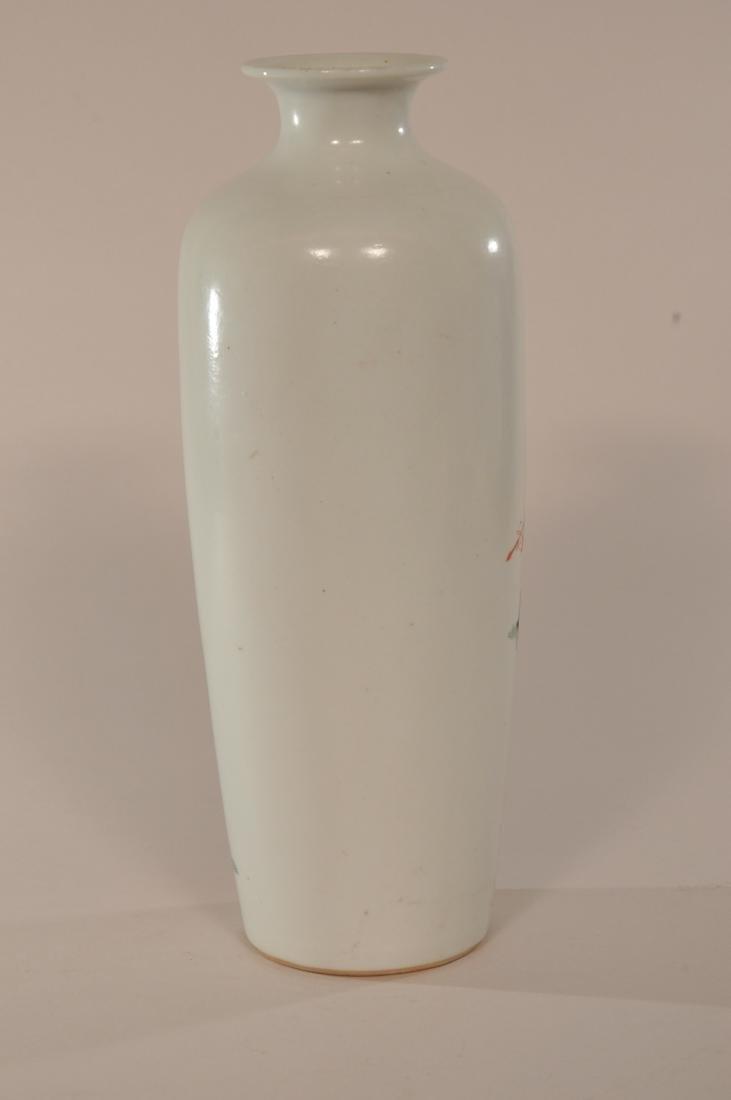 Porcelain vase. China. Late 19th century. Famille Verte - 4