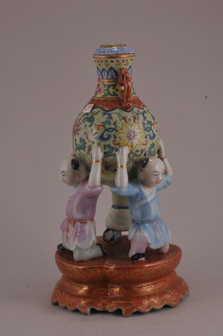 Porcelain vase. China. Late 19th century to early 20th - 2