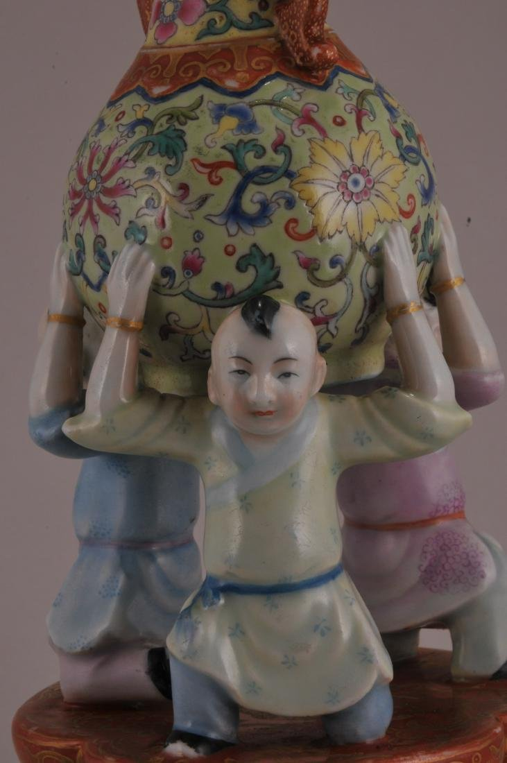 Porcelain vase. China. Late 19th century to early 20th - 4
