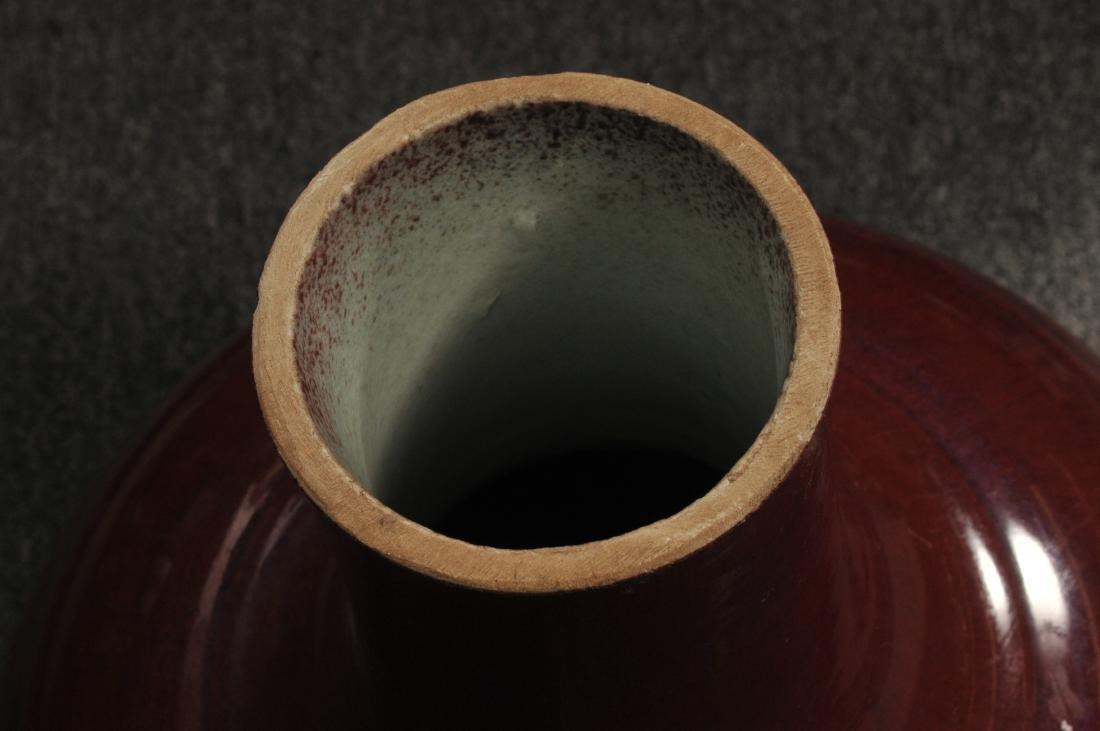 Large porcelain vase. China. Late 19th century. Bottle - 4