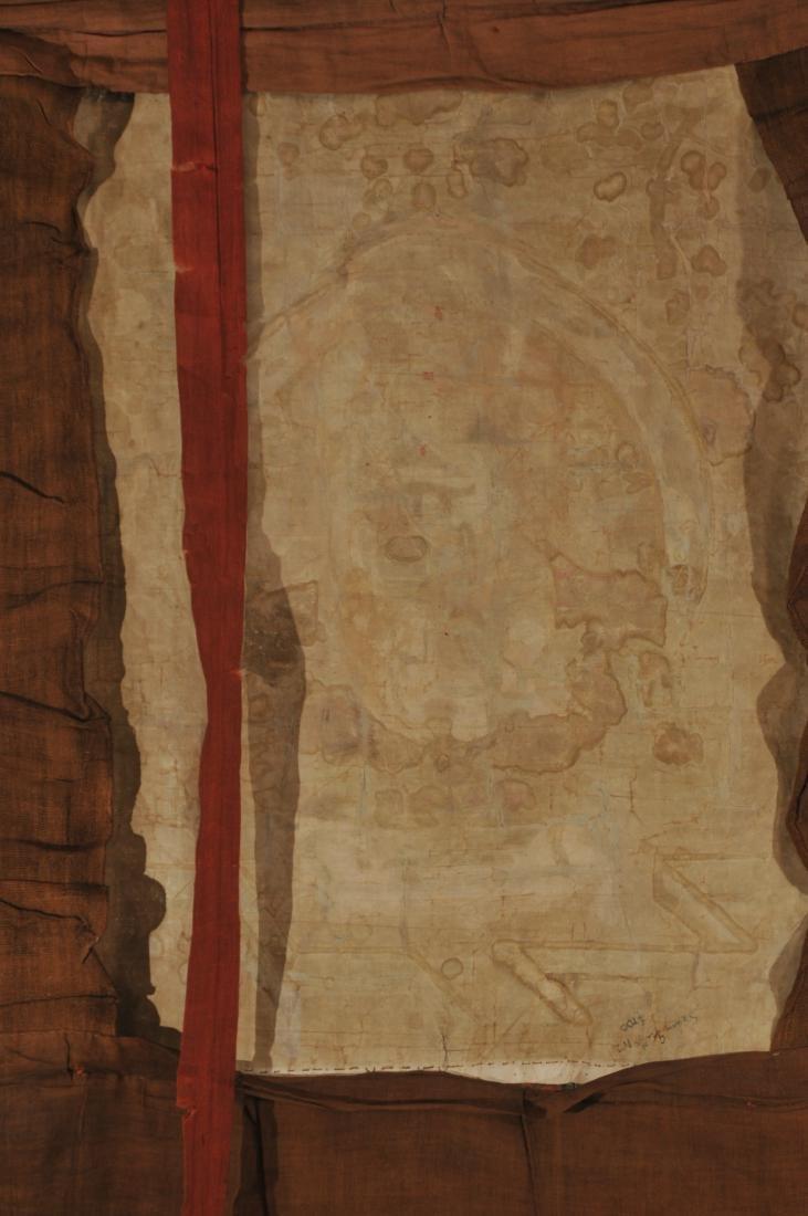 Thangka. Tibet. 18th century. Scene of The Buddha in a - 10
