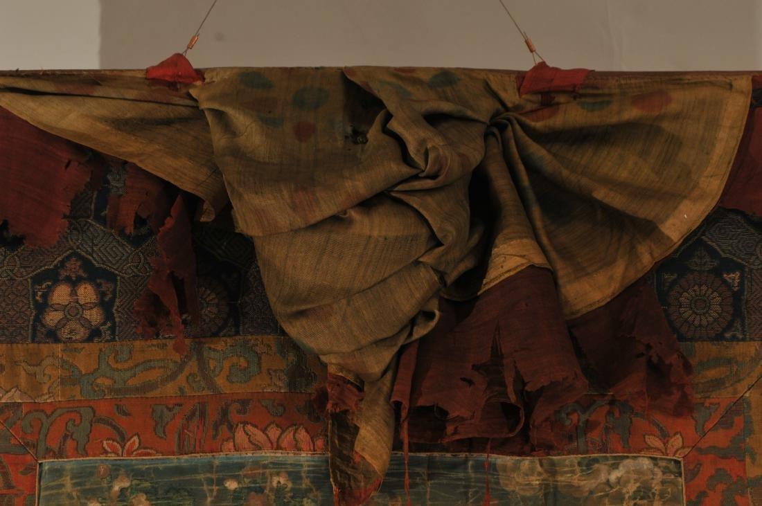Thangka. Tibet. 18th century. Scene of The Buddha in a - 8