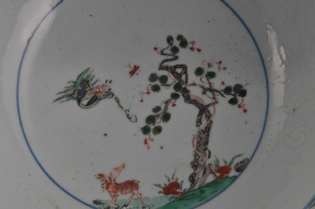 Porcelain bowl. Chinese Export ware. 18th century. - 4