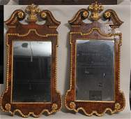 Pair of 19th century or earlier Georgian Chippendale