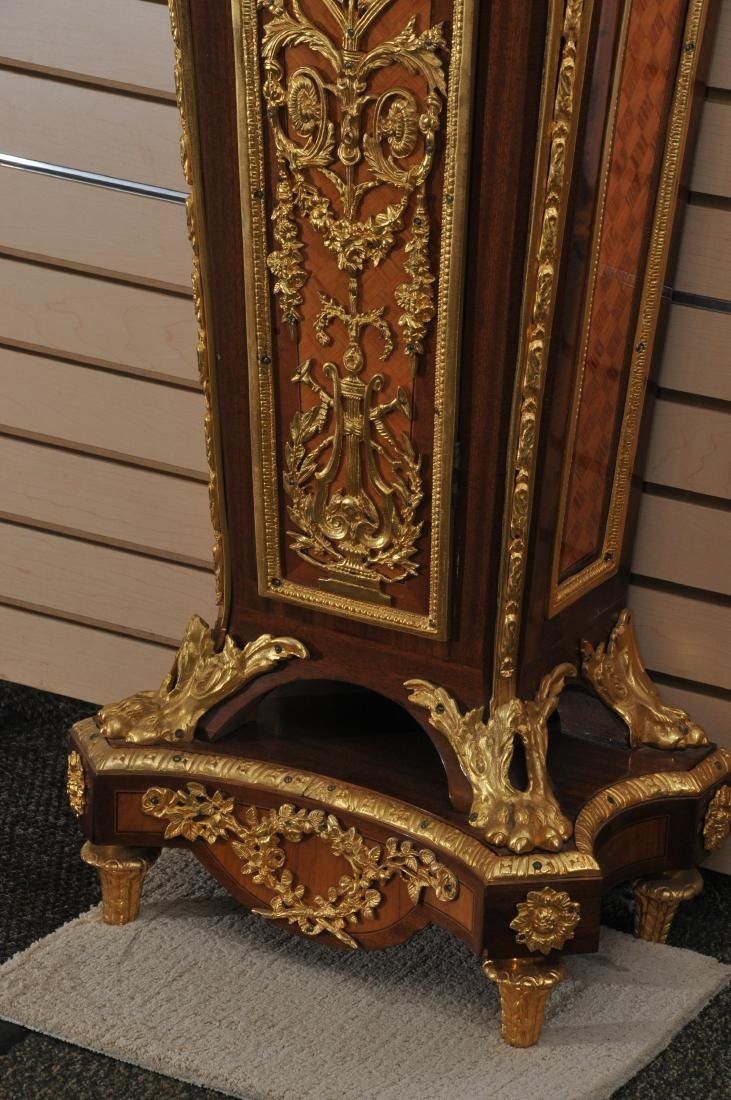 20th century French Louis XIV Barbedienne gilt bronze - 4