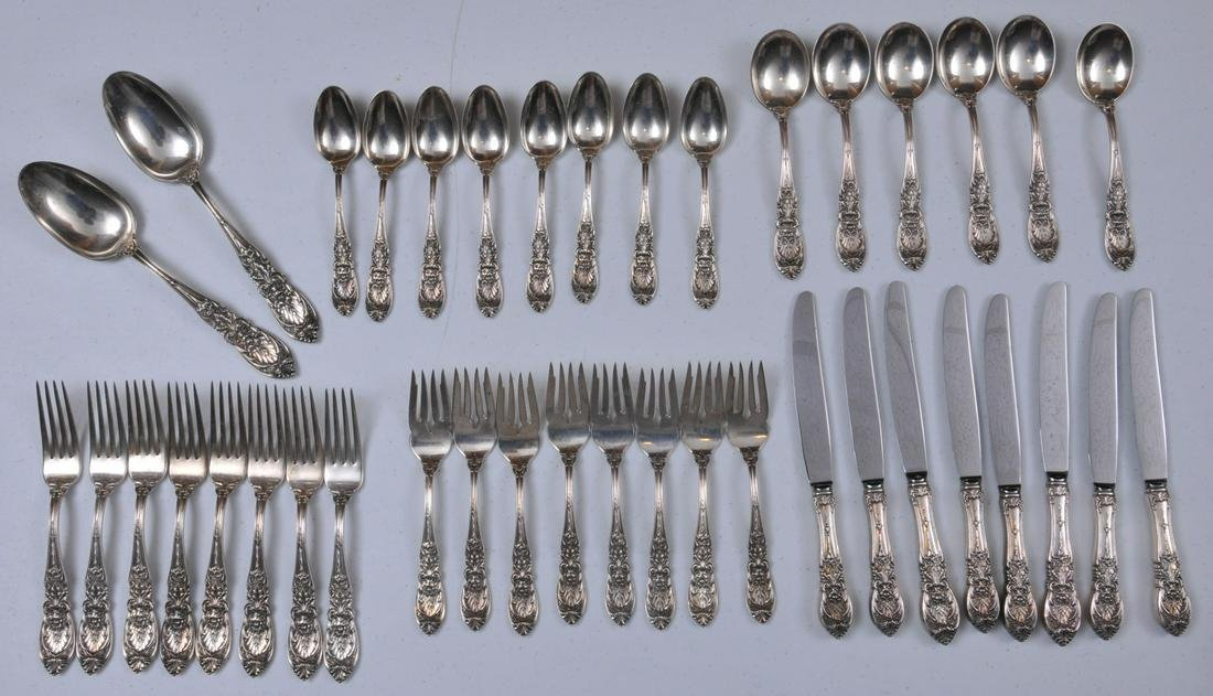 International makers sterling silver. Richlieu pattern