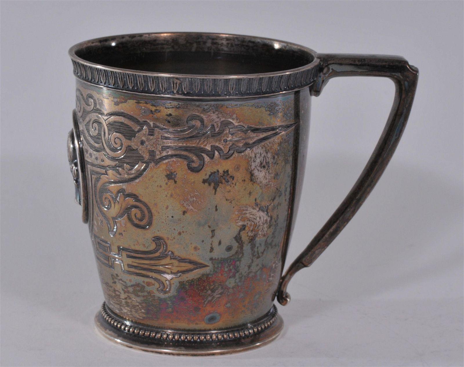Ball-Black & Co. N.Y. sterling silver Victorian