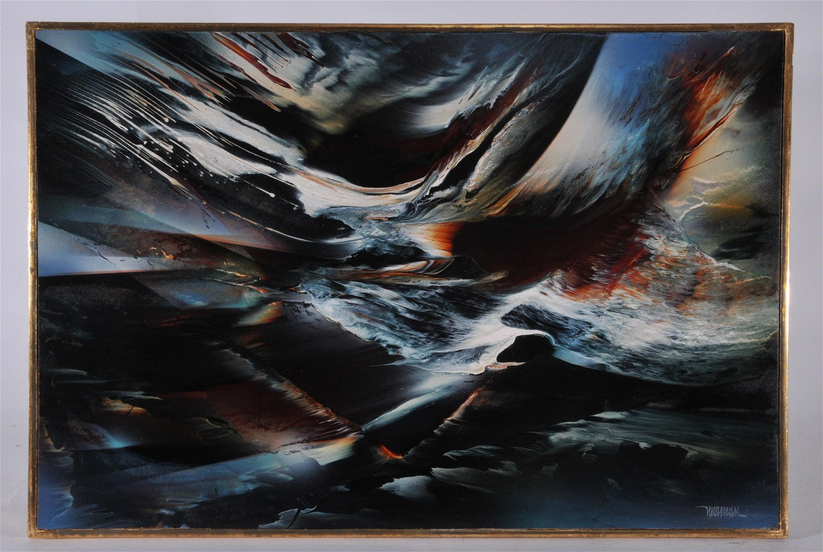 Leonardo Nierman, Mexican.  Contemporary abstract