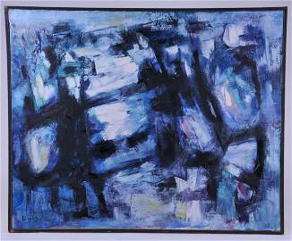 Antonio Corpora. 1957. Important Italian abstract