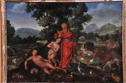 Early 17th century Flemish School Old Master painting