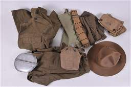 Large Lot of WWI Army Dough Boy items Great Theater