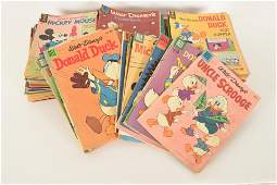 1960s Walt Disney and Assorted Comic Books