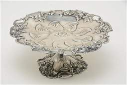 Tiffany & Co. Pierced Sterling Silver Compote