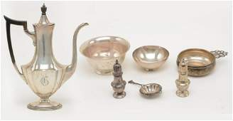 Sterling Silver Items including Tiffany