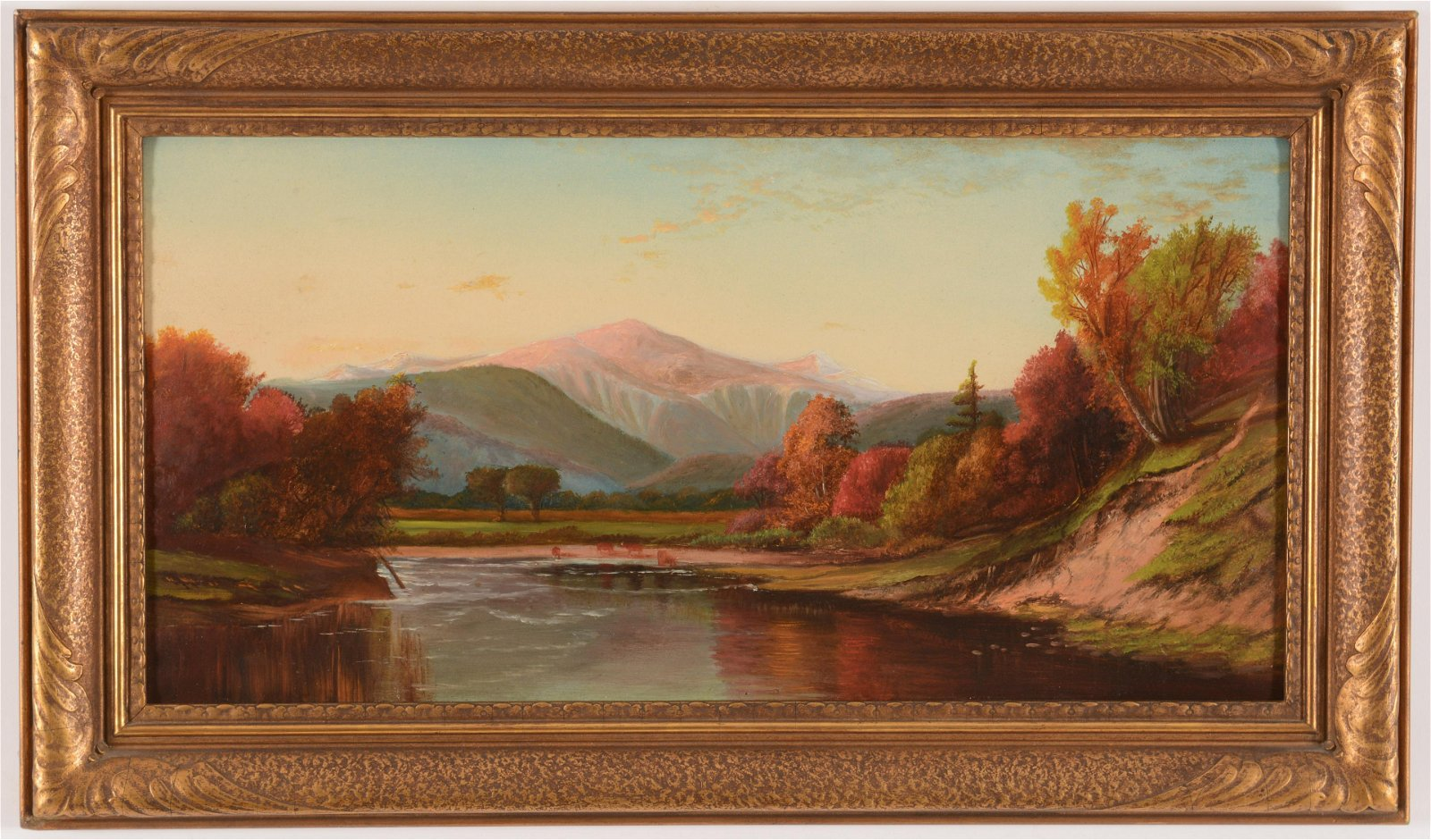 19th Century American School, White Mountain Scene