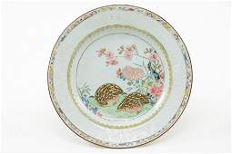Chinese Porcelain Plate 18th Century