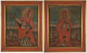 Colonial Latin American Paintings of Cardinals