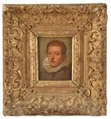 17th Century Dutch Old Master Miniature Portrait