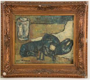 Andre Minaux. French. 20 th century. Still life