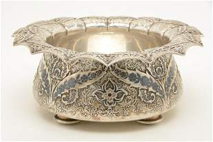 Tiffany & Co. makers sterling silver Persian form black