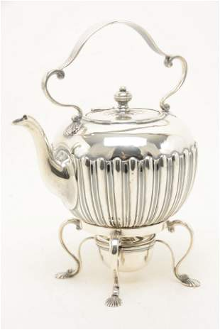 English 18th century Georgian sterling silver tea