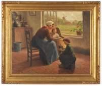 "Hendrik Heyligers. Holland. ""The Dollies"". Interior"