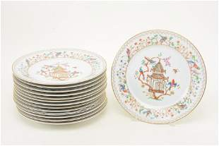 Limoges Audubon pattern plates for Tiffany & Co. Each