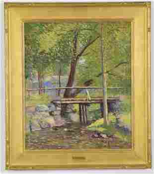 Joseph Elliot Enneking. American. Impressionist