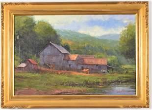 George Van Hook. American. Woodward farm, West