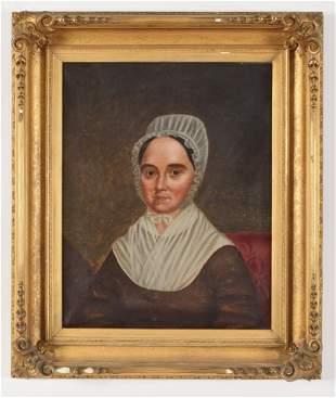 Early 19th century American school portrait of