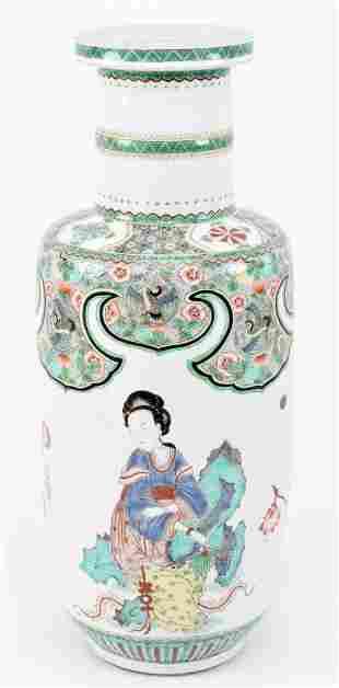 18th/19th century Chinese famille verte porcelain