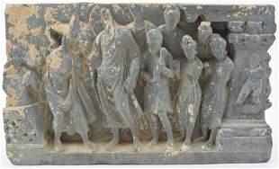 Carved stone frise. Northwestern Indian. Ghandaran