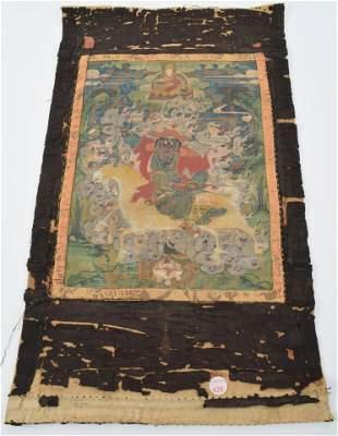 Buddhist icon. Tibet. 18th/19th century. Mineral