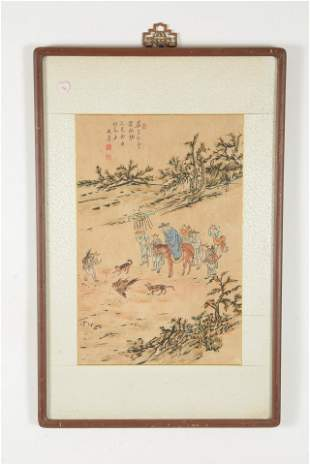 Painting. Korea. Early 20th century. Ink and color