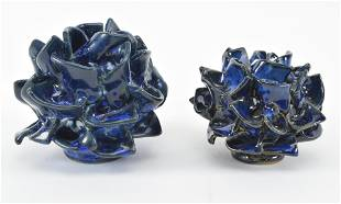 Kerstin Unterstab. East German studio pottery floral