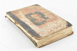 Victorian trade cards scrapbook. 19th Century. Over 100