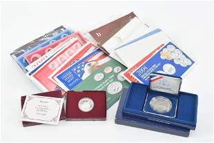 United States Mint collectible coins including
