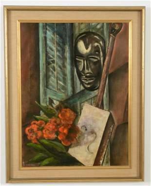 Zweibel. 1961. Abstract African American musician