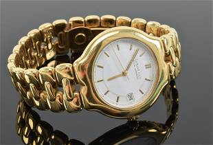 Gentlemans 18K wristwatch, Tiffany & Co Official