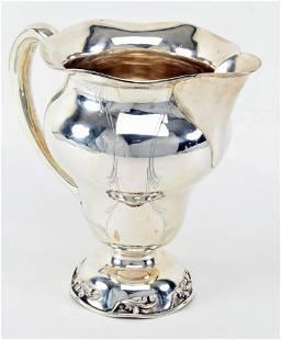 Dominick & Haff sterling silver art nouveau water