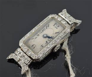 Edwardian Tiffany & Co. platinum and diamond
