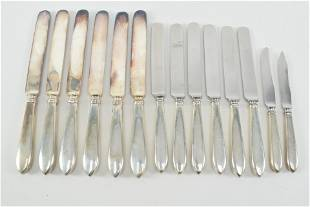 Arthur Stone sterling silver arts and crafts 14 piece