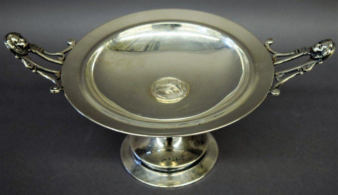 Gorham sterling silver Victorian Medallion decorated