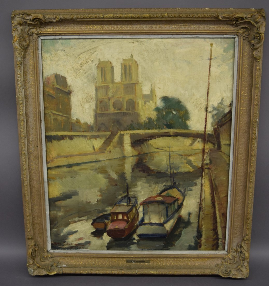 Boris Ivanovich Past Oukhoff. Russian. Paris canal