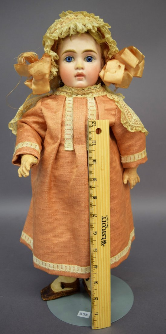 Bahr Proschild Bisque Head doll. Mold number 132. 17""