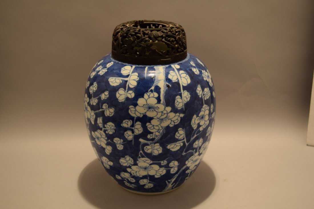 Porcelain jar. China. K'ang hsi period (1662-1722). - 2