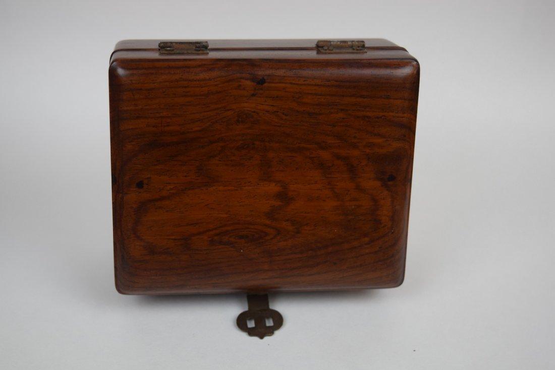 Huang hua li scholars box. China. 18th century. - 2