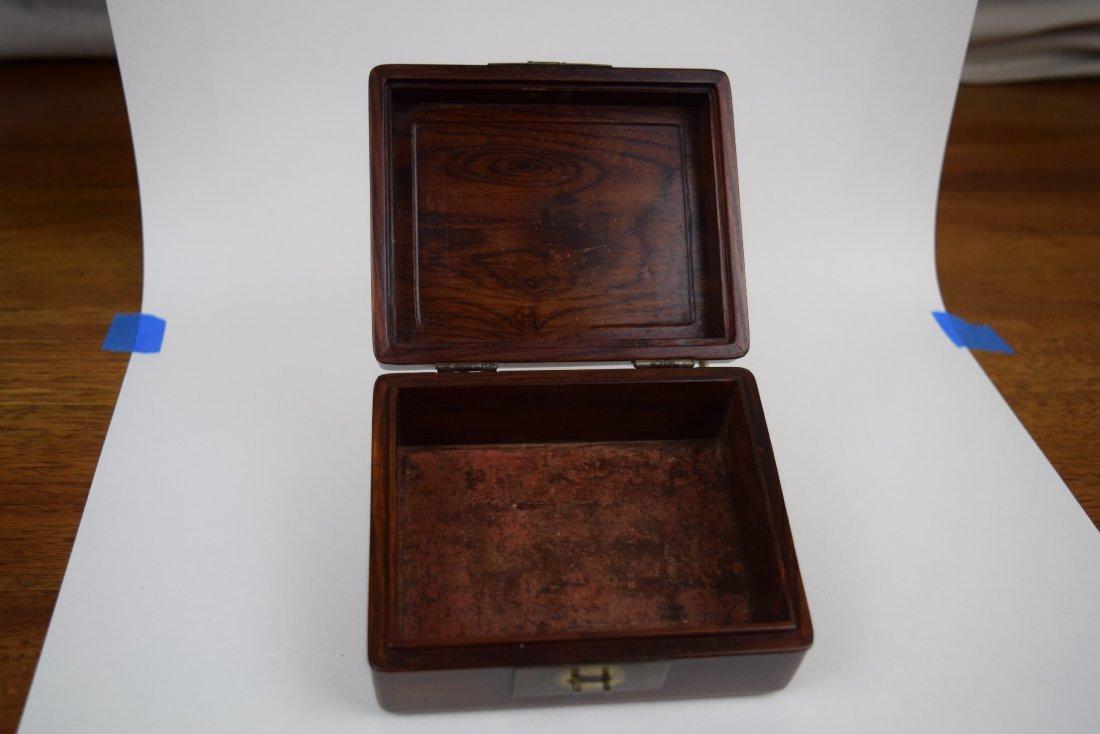 Huang hua li scholars box. China. 18th century. - 7