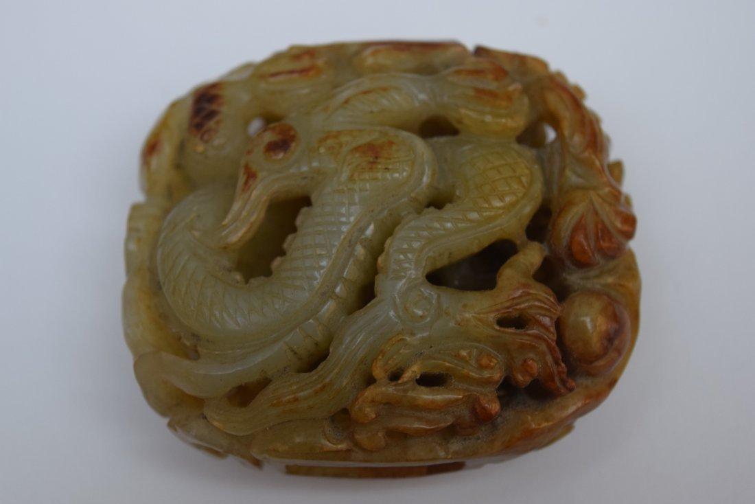 Jade carving. China. Yuan period. (1279-1368). Grey - 4